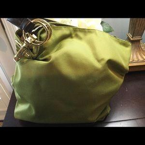 Green Hobo Bag